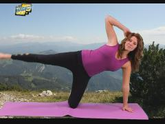 Pilates side kick cleaning