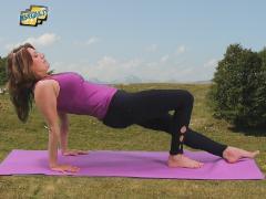 Pilates leg pull suspine