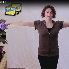 schouders zijwaards versterken