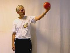 Armdraai met bal