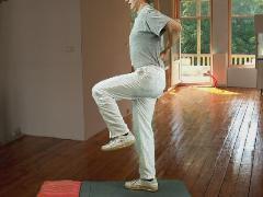Basis rugstabilisatie; staan in balans