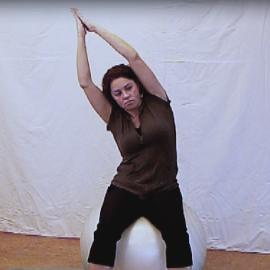 Rompbalans op bal (Pilatus)