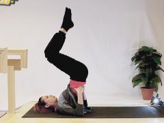 Yoga  coördinatie en balans: de kaars