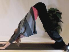 Yoga basishouding; lichaamsbeheersing