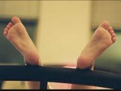 Ademen met de benen