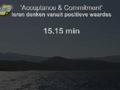 Acceptance & Commitment waarde-vol