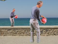 Tai Chi 'draag de bal op zee'